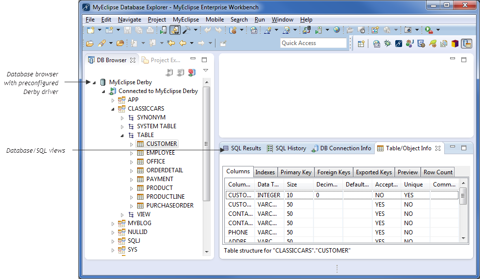 Derby database jar download