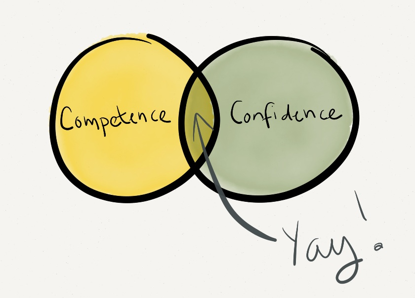 confidence vs competence in leadership Improving clinical competence and confidence of senior nursing students  building professional roles, competence, confidence, and socialization in the nursing.