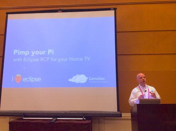 EclipseCon San Francisco, Genuitec and Raspberry Pi