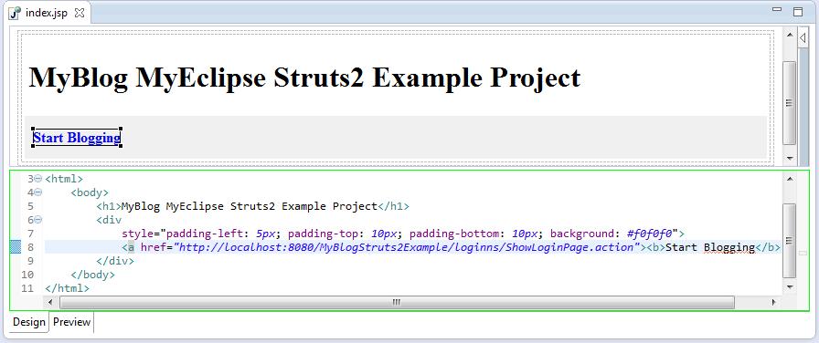 Struts2-Index-Jsp-Page
