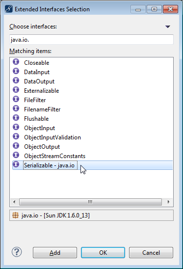 EJB 3 Java interface