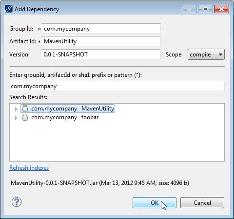 Java Maven dependency