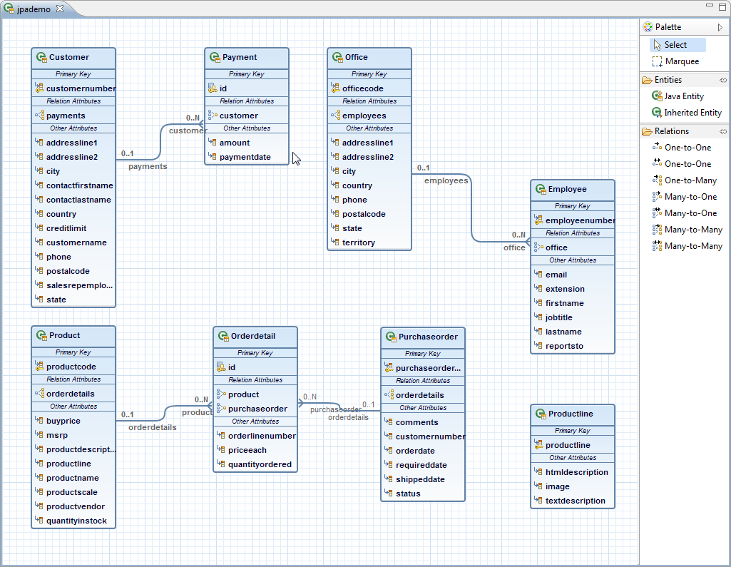 Myeclipse twitter chat our jpa diagram editor makes editing entities and relationships really easy javaee java genuitecchat appstoreuploadr ccuart Image collections
