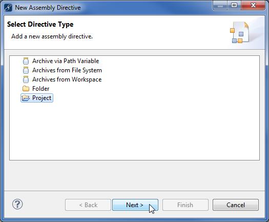 Java EE enterprise application assembly