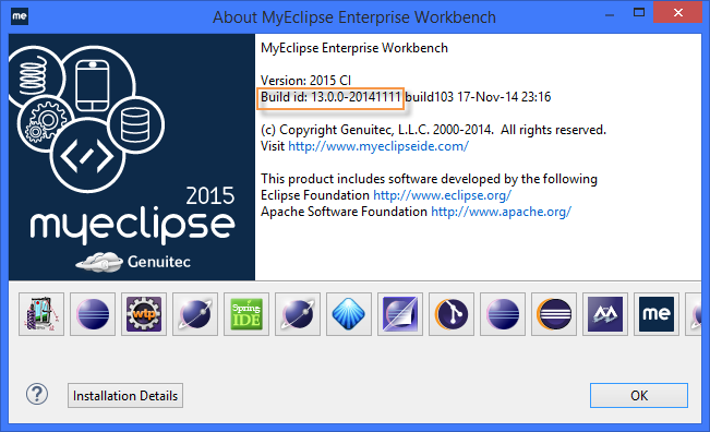 Building MobiOne app - MyEclipse prerequisite