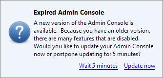console_update_notice