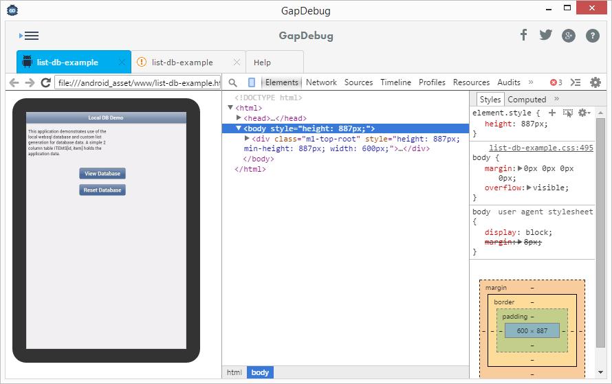 Android screencast - GapDebug