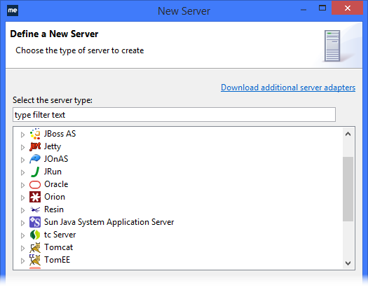 WebSphere IDE additional app servers