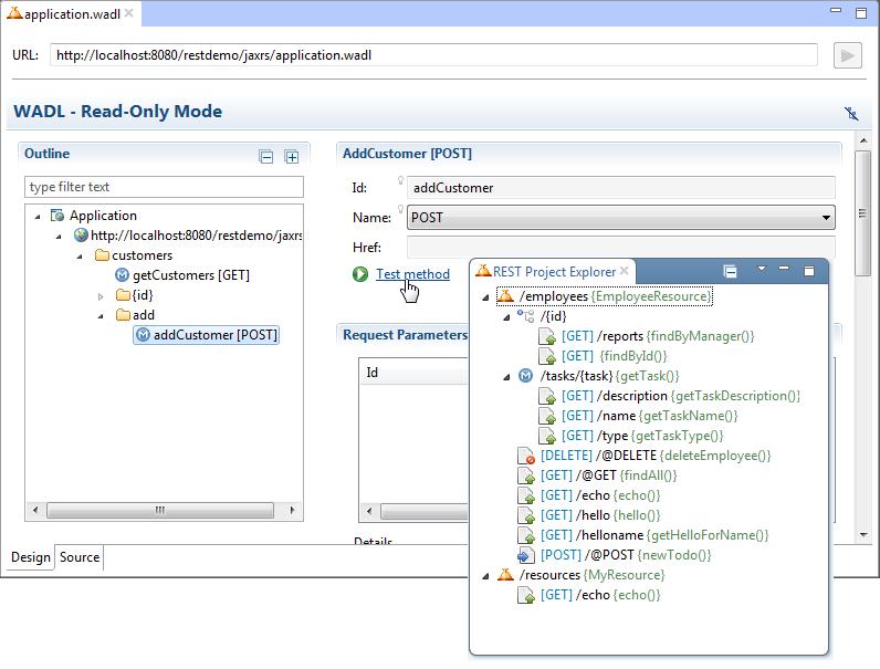 Java EE IDE - web services