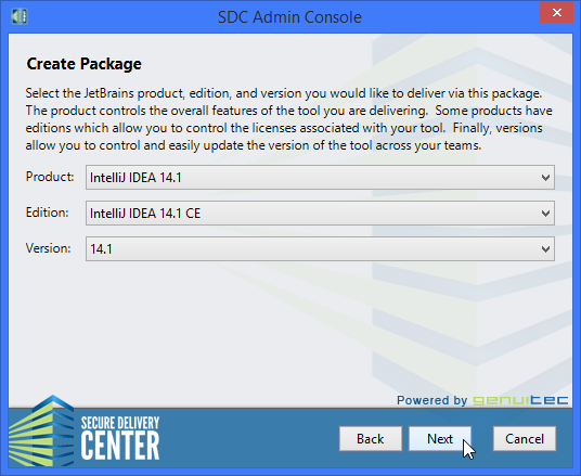 JetBrains IDE delivery - new package