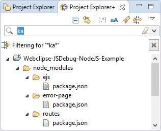 Project Explorer+