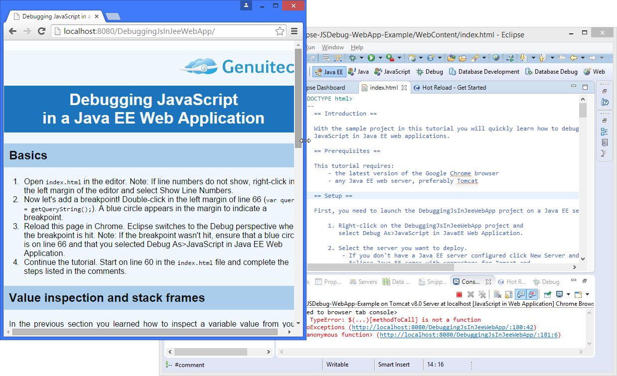 JSDebug tutorial