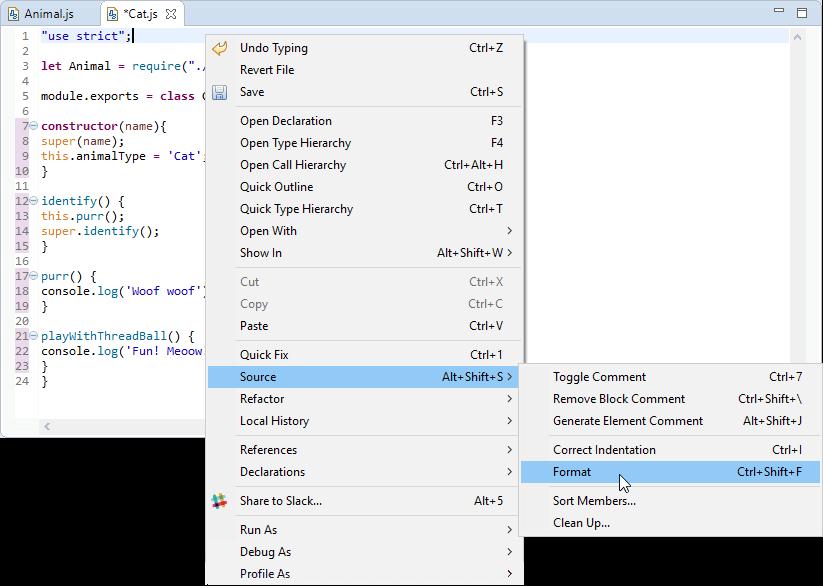 JSjet Source Formatter