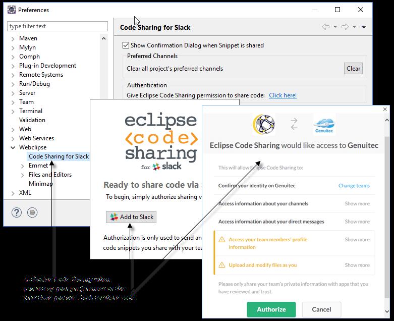 Authorize Access to Slack