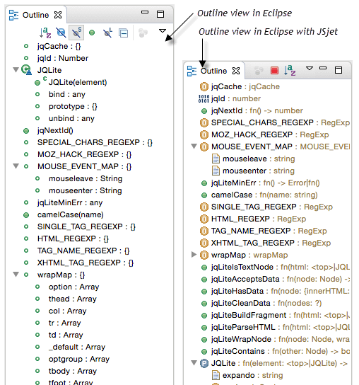 JSjet Code Visualization