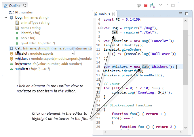 Occurrence Highlighting