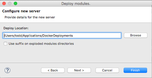 DockerDeployLocation