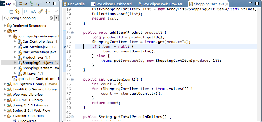 DockerSetBreakpoint