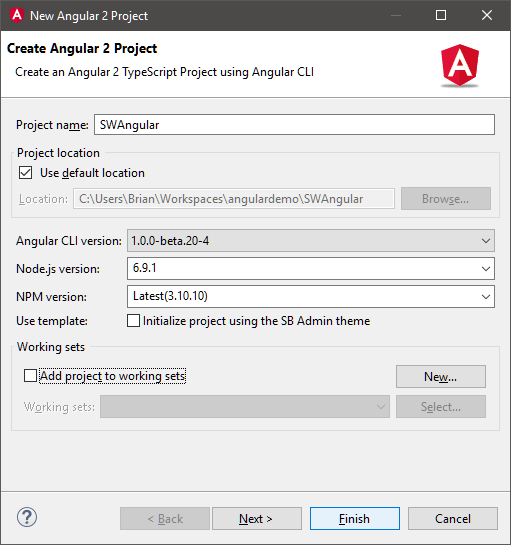 p3-create-angular-2-project