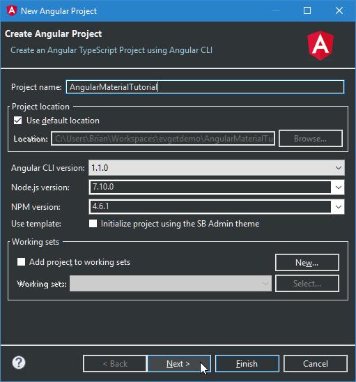 name-new-angular-project