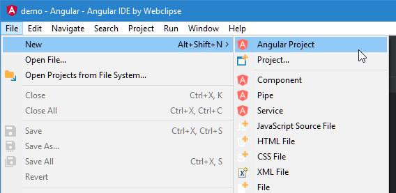 new-angular-project