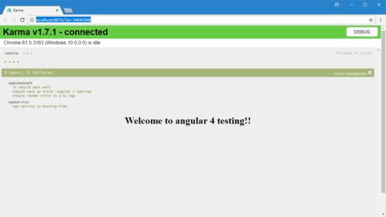 testing angular apps