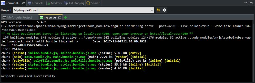 angular-terminal-view