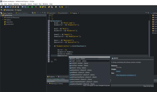 webclipse-content-assist-functions