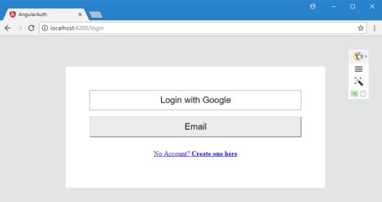 Angular 5 Authorization Application