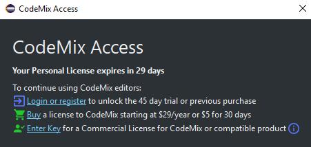React Tutorial: CodeMix Access